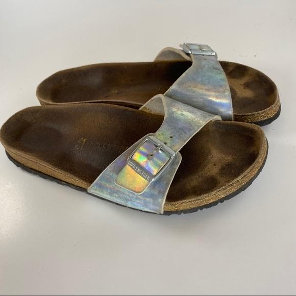 Birkenstock Madrid Slide On Sandals Size 41